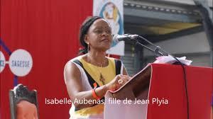 Isabelle Aubenas, fille de Jean Pliya